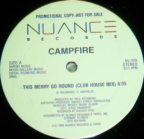"Campfire - This Merry Go Round (12"", Promo, Used)Used Records"