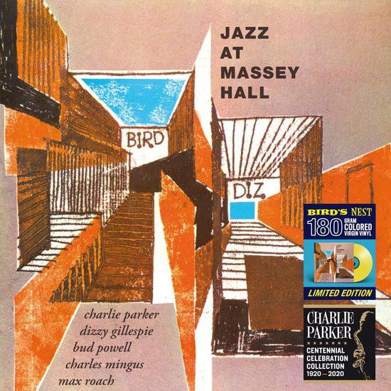 Charlie Parker Featuring Dizzy Gillespie, Bud Powell, Charles Mingus, Max Roach - Jazz At Massey Hall (Limited Edition, Reissue, Remastered)Vinyl