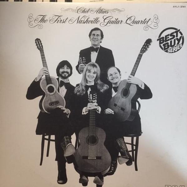 Chet Atkins - The First Nashville Guitar Quartet (LP, Album, RE, Used)Used Records