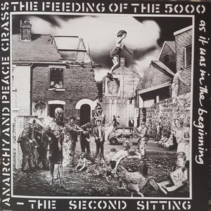 Crass - The Feeding Of The 5000 (The Second Sitting) (45 RPM, Reissue, Remastered)Vinyl