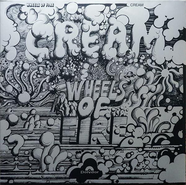 Cream - Wheels Of Fire(2LP, Reissue)Vinyl