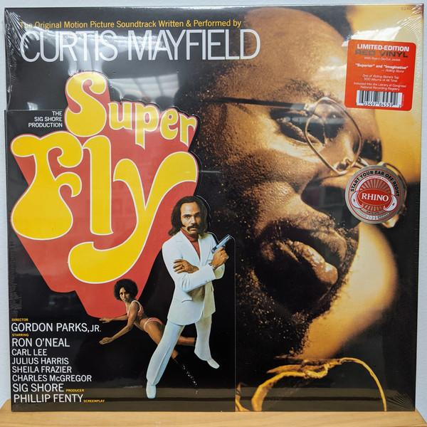 Curtis Mayfield - Super Fly (The Original Motion Picture Soundtrack) (Limited Edition, Reissue)Vinyl