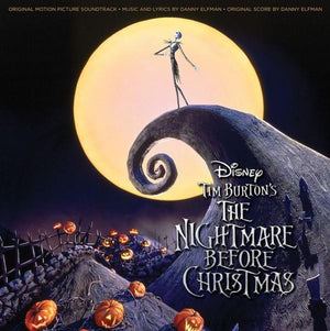 Danny Elfman - Tim Burton's The Nightmare Before Christmas (Original Motion Picture Soundtrack) (2LP, Repress)Vinyl