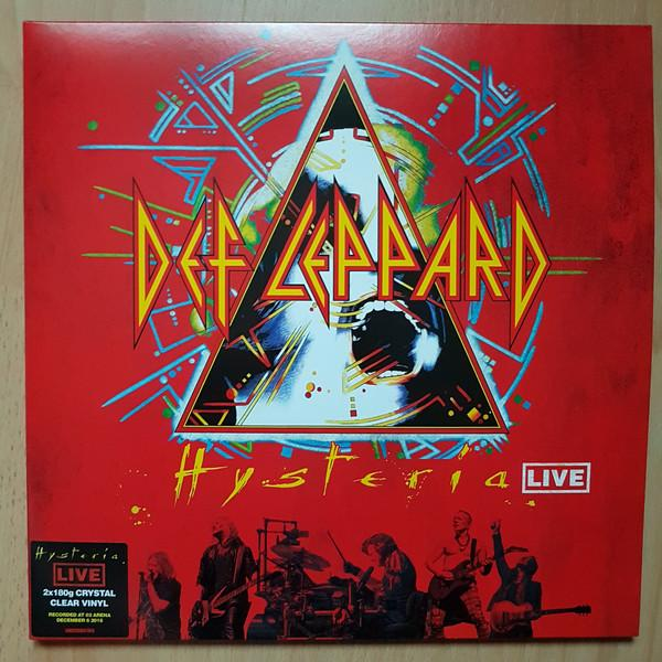 Def Leppard - Hysteria Live (2LP, Limited Edition)Vinyl