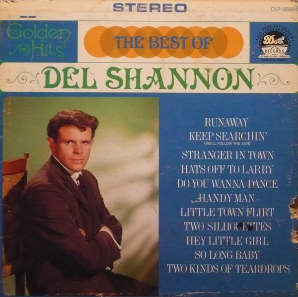 Del Shannon - The Best Of Del Shannon (LP, Comp, Used)Used Records