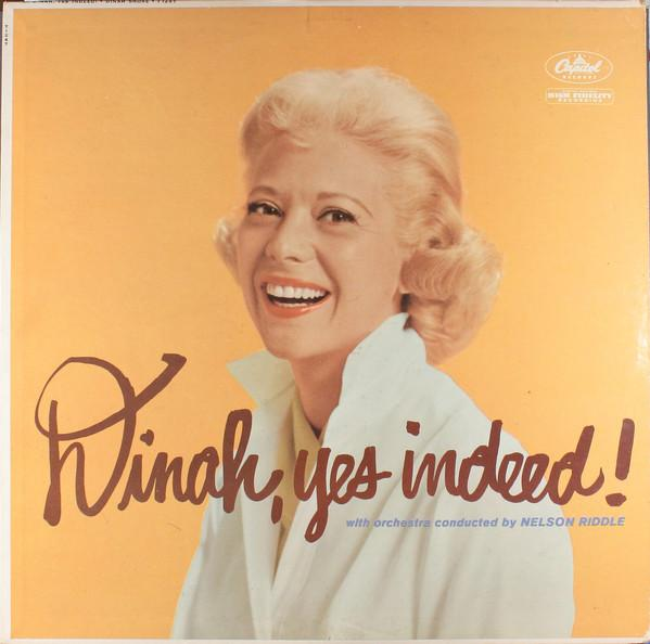 Dinah Shore - Dinah, Yes Indeed! (LP, Album, Mono, Used)Used Records