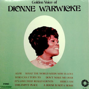 Dionne Warwick - Golden Voice Of Dionne Warwicke (LP, Comp, Used)Used Records