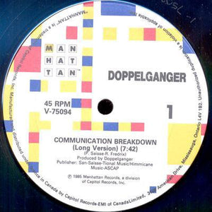 "Doppelganger - Communication Breakdown (12"", Used)Used Records"