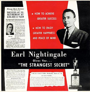 "Earl Nightingale - The Strangest Secret (10"", Used)Used Records"