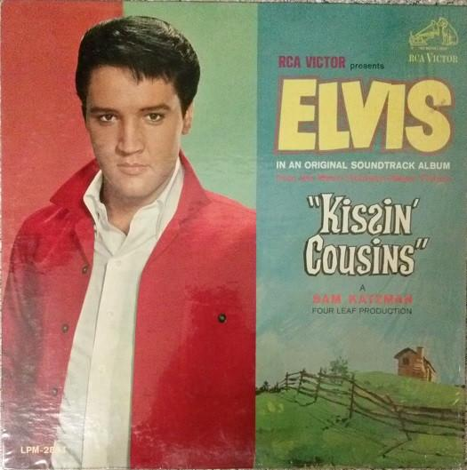 Elvis Presley - Kissin' Cousins (LP, Album, Mono, Ind, Used)Used Records