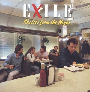 Exile - Shelter From The Night (LP, Album, MP, Used)Used Records