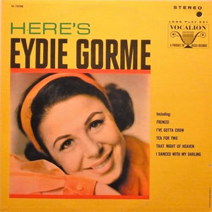 Eydie Gormé - Here's Eydie Gorme (LP, Used)Used Records