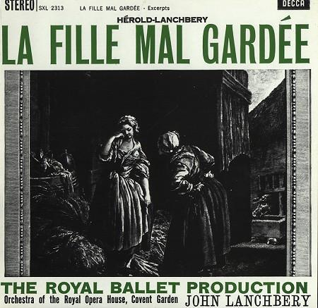 Ferdinand Hérold, John Lanchbery, Orchestra Of The Royal Opera House, Covent Garden - La Fille Mal Gardée - Excerpts (Remastered)Vinyl