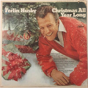 Ferlin Husky - Christmas All Year Long (LP, Album, Used)Used Records