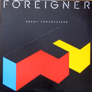 Foreigner - Agent Provocateur (LP, Album, Used)Used Records