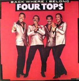 Four Tops - Back Where I Belong (LP, Album, Used)Used Records