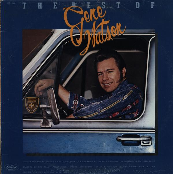 Gene Watson - The Best Of Gene Watson (LP, Comp, Used)Used Records