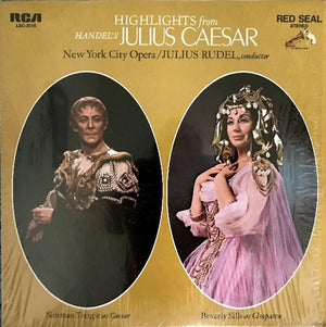 Georg Friedrich Händel - Highlights From Handel's Julius Caesar (LP, Used)Used Records