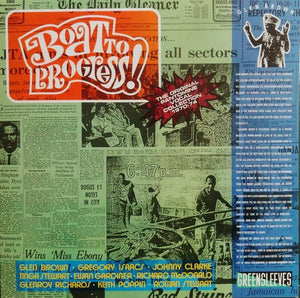 Glen Brown - Boat To Progress! (The Original Pantomine Vocal Collection 1970-74) (Reissue)Vinyl