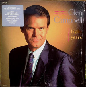 Glen Campbell - Light Years (LP, Used)Used Records