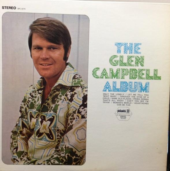 Glen Campbell - The Glen Campbell Album (LP, Album, Comp, Used)Used Records