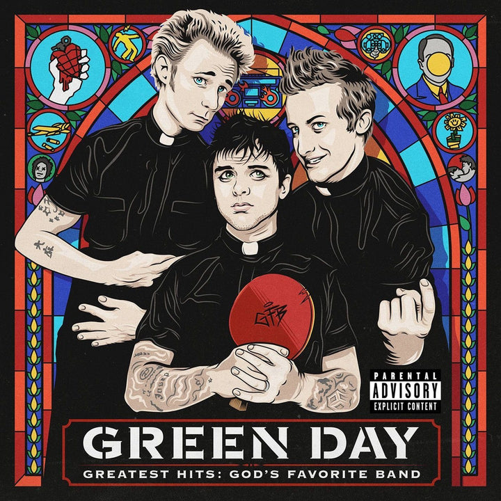 Green Day - Greatest Hits: God's Favorite Band (2LP)Vinyl