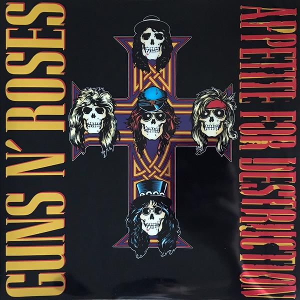 Guns N' Roses - Appetite For Destruction (2LP, 180 gram, 2018 remaster)Vinyl