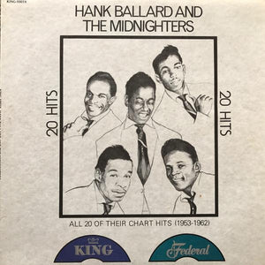 Hank Ballard & The Midnighters - 20 Hits: All 20 Of Their Chart Hits (1953-1962) (LP, Comp, Used)Used Records