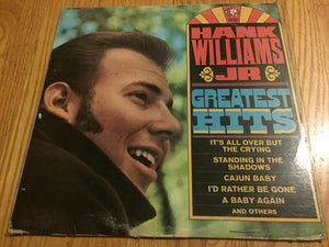 Hank Williams Jr. - Hank Williams Jr Greatest Hits (LP, Comp, Used)Used Records