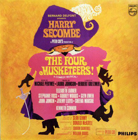 Harry Secombe - The Four Musketeers! (LP, Mono, Used)Used Records