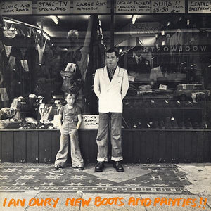 Ian Dury - New Boots And Panties!! (LP, Album, Ext, Used)Used Records
