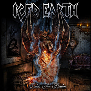 Iced Earth - Enter The Realm (Single Sided, EP, Etched, Reissue)Vinyl