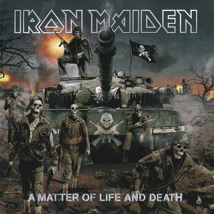 Iron Maiden - A Matter Of Life And Death (2LP, Reissue, Remastered)Vinyl