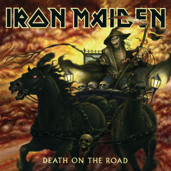 Iron Maiden - Death On The Road (2LP, Reissue, Remastered)Vinyl