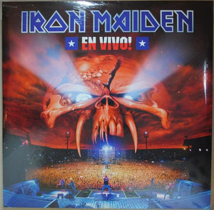 Iron Maiden - En Vivo! (3LP, Limited Edition, Reissue, Remastered)Vinyl