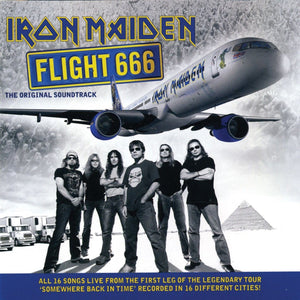 Iron Maiden - Flight 666 - The Original Soundtrack (2LP, Reissue, Remastered)Vinyl