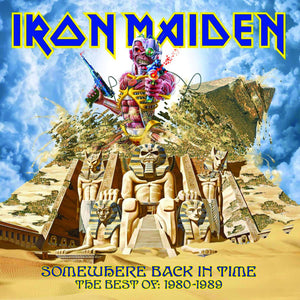 Iron Maiden - Somewhere Back In Time - The Best Of: 1980-1989 (2LP, Limited Edition, Picture Disc)Vinyl