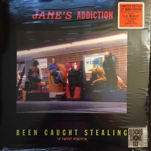Jane's Addiction - Been Caught Stealing (45 RPM, Single, Limited Edition, Reissue)Vinyl