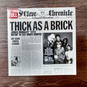 Jethro Tull - Thick As A BrickVinyl