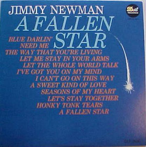 Jimmy C. Newman - A Fallen Star (LP, Comp, Mono, Used)Used Records