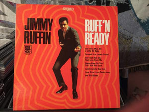 Jimmy Ruffin - Ruff'n Ready (LP, Album, Ind, Used)Used Records