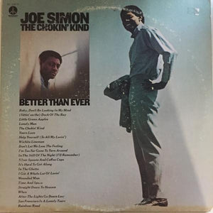 Joe Simon - The Chokin' Kind/Better Than Ever (2xLP, Album, Comp, Gat, Used)Used Records