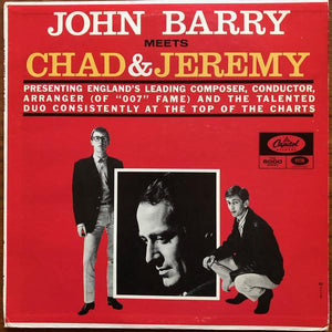 John Barry & His Orchestra - John Barry Meets Chad & Jeremy (LP, Album, Mono, Used)Used Records