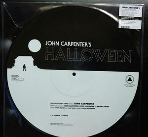 John Carpenter - Halloween b/w Escape From New York (Single, Limited Edition, Picture Disc)Vinyl
