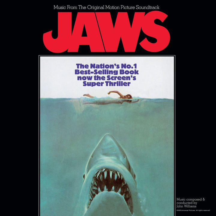 John Williams - Jaws (Music From The Original Motion Picture Soundtrack) (Reissue)Vinyl