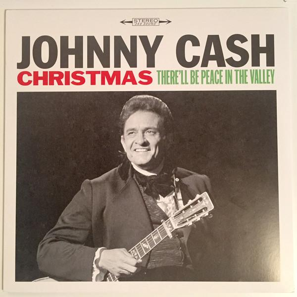 Johnny Cash - Christmas - There'll Be Peace In The ValleyVinyl