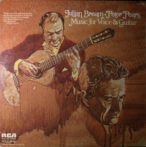 Julian Bream - Peter Pears - Music For Voice And Guitar (LP, Album, RE, RM, Used)Used Records