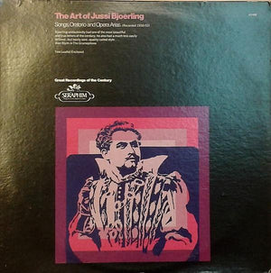 Jussi Björling - The Art Of Jussi Bjoerling (LP, Comp, Mono, Used)Used Records