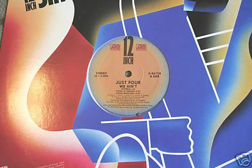 "Just Four - We Ain't (12"", Used)Used Records"