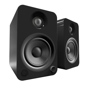Kanto YU4 Powered Speakers with Bluetooth and Phono PreampSpeakersGloss Black